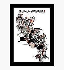 Metal Gear Solid 4: Guns of the Patriots Photographic Print