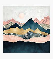 Plush Peaks Photographic Print