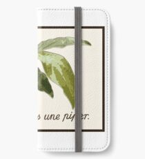 Ceci n´est pas une piper iPhone Wallet/Case/Skin