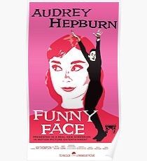 Audrey Hepburn in Funny Face Poster