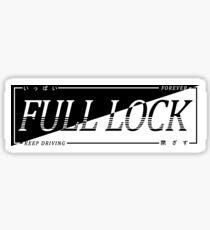 FULL LOCK - KEEP DRIVING FOREVER Sticker