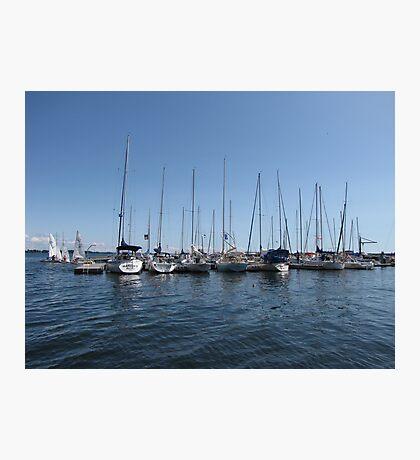 Kingston Harbor Photographic Print