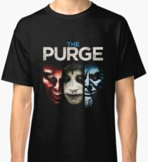The Purge Trilogi Classic T-Shirt