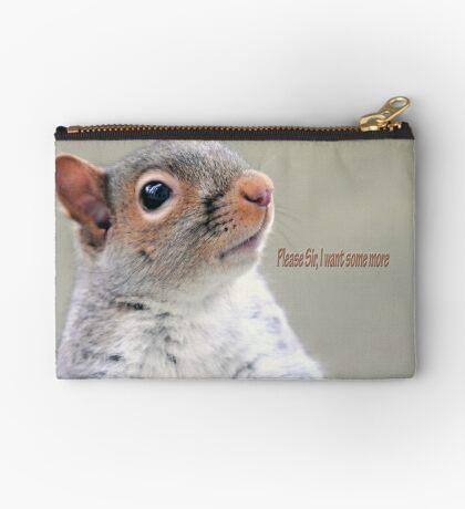 Oliver Twist Squirrel Studio Pouch