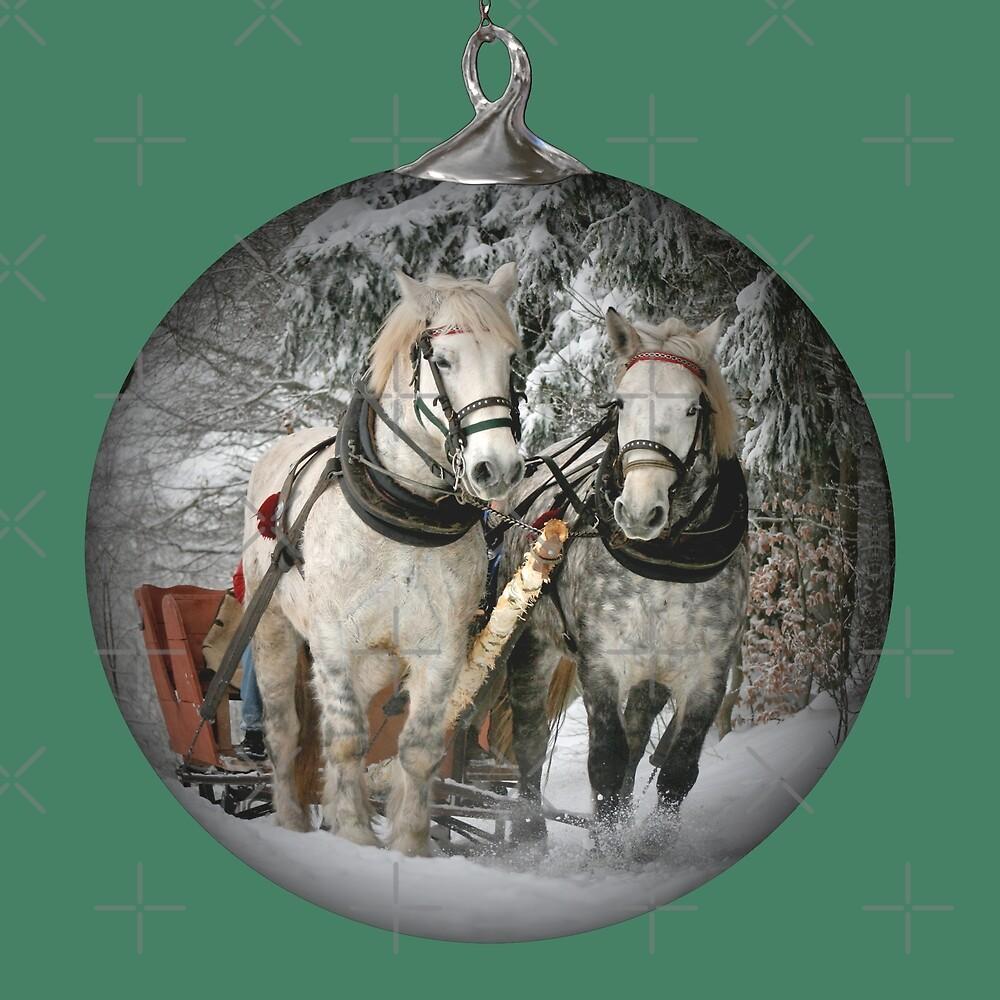 Christmas Horses by FrankieCat