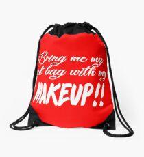 Bring mir meine rote Tasche mit meiner Make-up! 90 Tag Verlobte TV-Angebote Turnbeutel