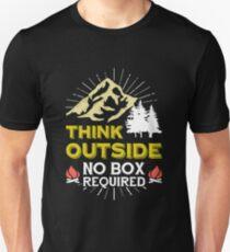 Camping Shirt Camper Travel Unisex T-Shirt