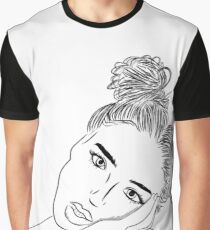 girl drawing Graphic T-Shirt