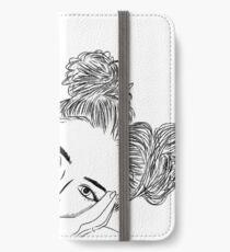 girl drawing iPhone Wallet/Case/Skin