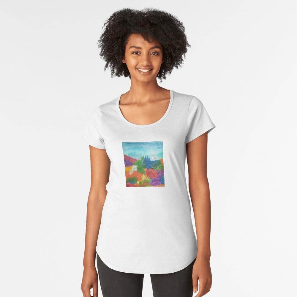 Home Women's Premium T-Shirt Front