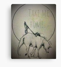 Take Me Home Fundraiser Canvas Print