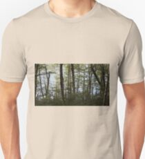 Water through the trees  T-Shirt