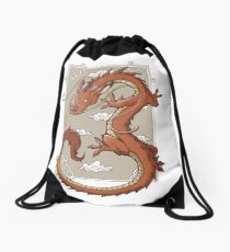 Real Mushu Drawstring Bag