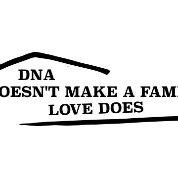 """DNA doesn't make a family, love does"" The Fosters Apparel by booksfoodfandom"