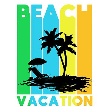 Beach Vacation by MakiMadjija