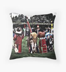 Pow-wow Throw Pillow