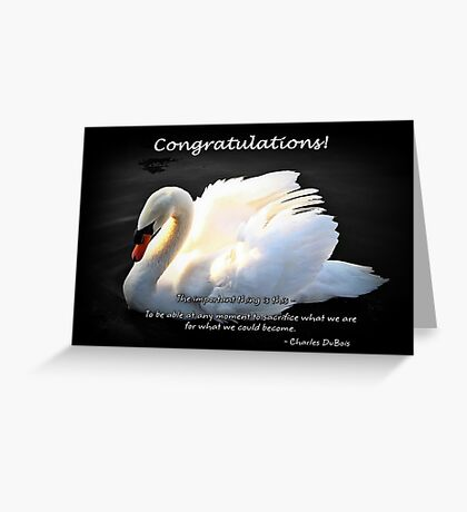 Courage To Be Greeting Card