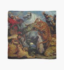 Hunting Scene Rubens Flemish art Style | Painting Art Design Scarf