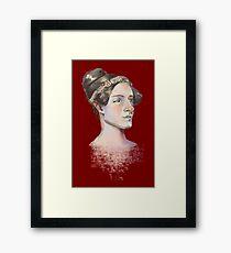 Ada Lovelace - The First Computer Programmer Framed Print