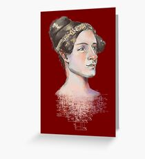 Ada Lovelace - The First Computer Programmer Greeting Card
