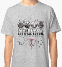 MacReady School of Survival Classic T-Shirt
