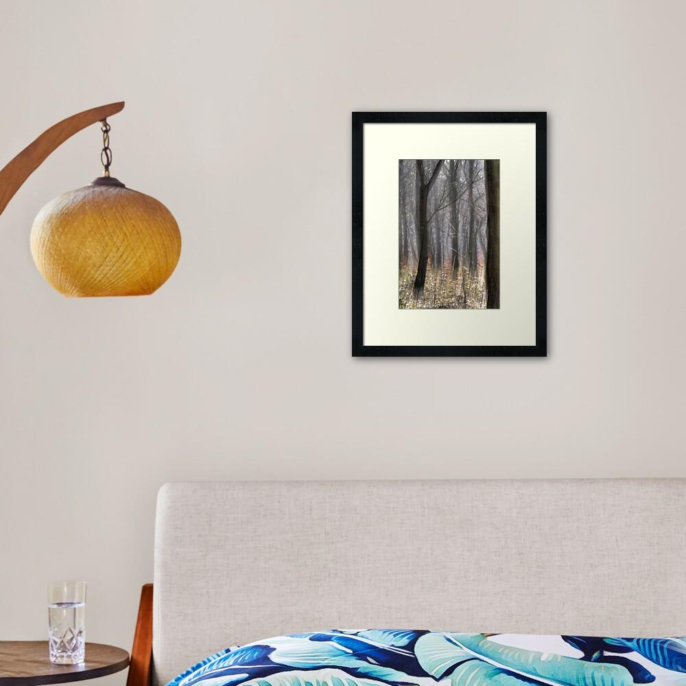 Movement of the Trees Framed Art Print