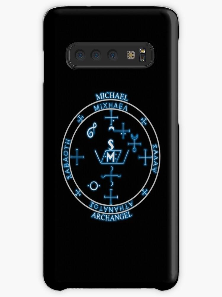 'ARCHANGEL MICHAEL sigil seal' Case/Skin for Samsung Galaxy by MortalDesigns