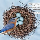 Hope is the Thing with Feathers . . . by Bonnie T.  Barry