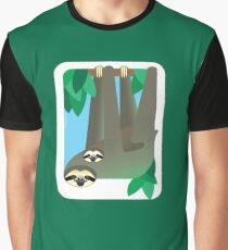 Sloth #1 Graphic T-Shirt
