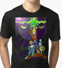 Adventures of the Gary in Final Space! Tri-blend T-Shirt