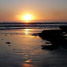 """""""Surf at Sunset"""" by Tim&Paria Sauls"""
