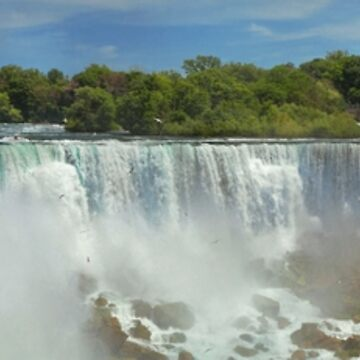 City - Niagara NY - The American Falls at Niagara by mikesavad