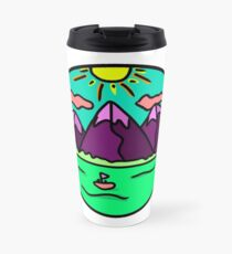 Mountain Range By the Lake Travel Mug