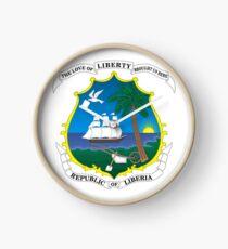Reloj Escudo de Liberia