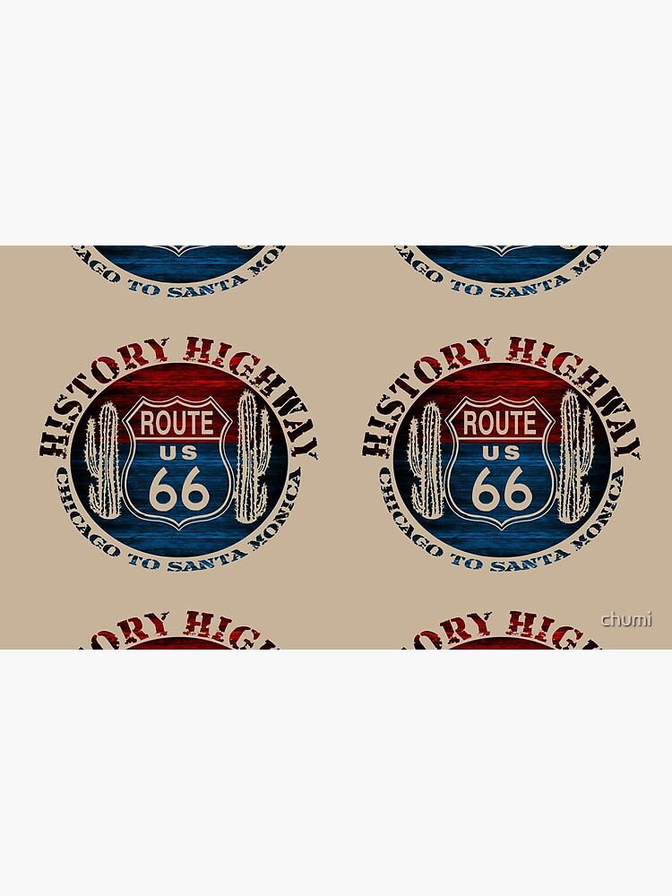 Route 66 The Great America Road Vintage Trip Perfect Gifts. by chumi