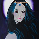 'The vampire awakens at midnight' by Lusha Weir (2018) by Peter Evans Art