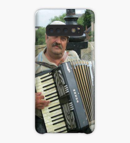 Street Musician Hülle & Klebefolie für Samsung Galaxy