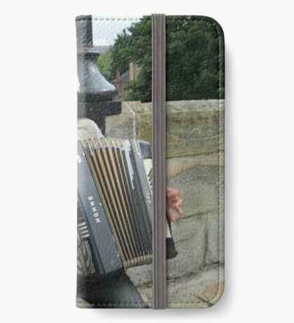 Street Musician iPhone Flip-Case