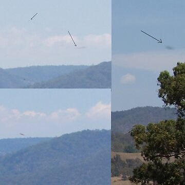 UFO's In Megalong Valley by StarKatz