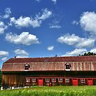 The Beauty of Red Barns... by Poete100
