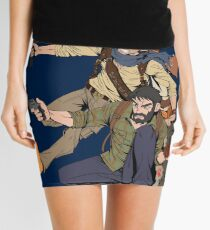 Naughty Dog - Drake, Joel, Jak Mini Skirt