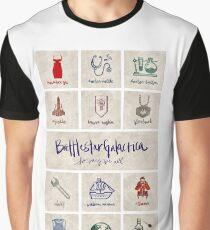 Battlestar Galactica - Minimalist Poster Graphic T-Shirt