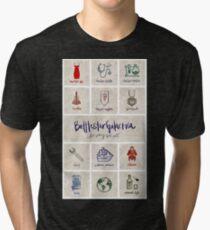 Battlestar Galactica - Minimalist Poster Tri-blend T-Shirt