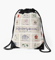Battlestar Galactica - Minimalist Poster Drawstring Bag