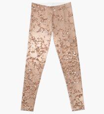 Rose Gold Crackle Leggings