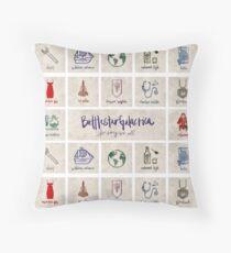 Battlestar Galactica - Minimalist Poster 2 Floor Pillow