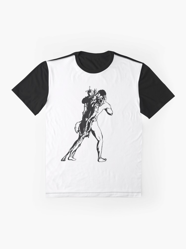 Alternate view of Rooted | Ink Drawing Graphic T-Shirt