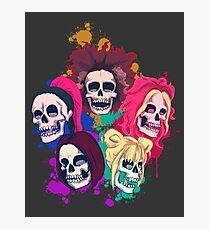 Spice Skulls Photographic Print