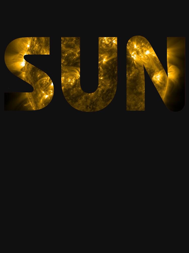 Sun Photo Background Text by bigbadbear