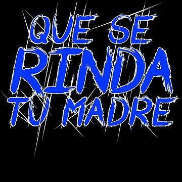 Nicaragua Protest Design Que se rinda tu madre by fermo